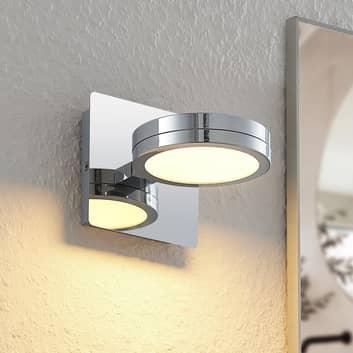 Lindby Skrolla koupelnové nástěnné světlo, 1 zdroj
