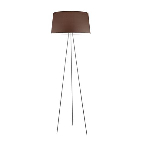 Kundalini Tripod lampadaire moka/support gris