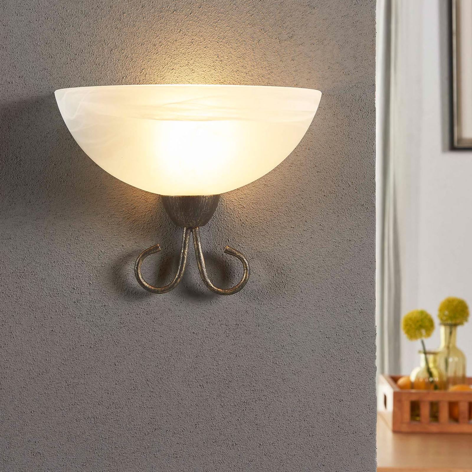 Aantrekkelijke wandlamp Castila