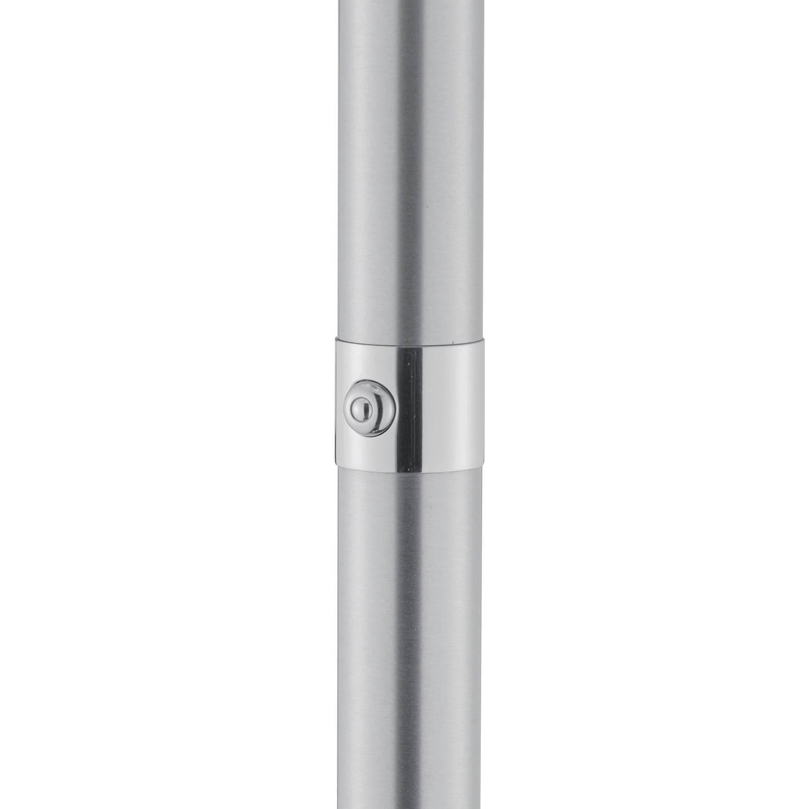 BANKAMP Meesterwerk vloerlamp, nikkel