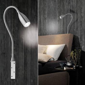 Lámpara pared LED atenuable control p. gestos Sten