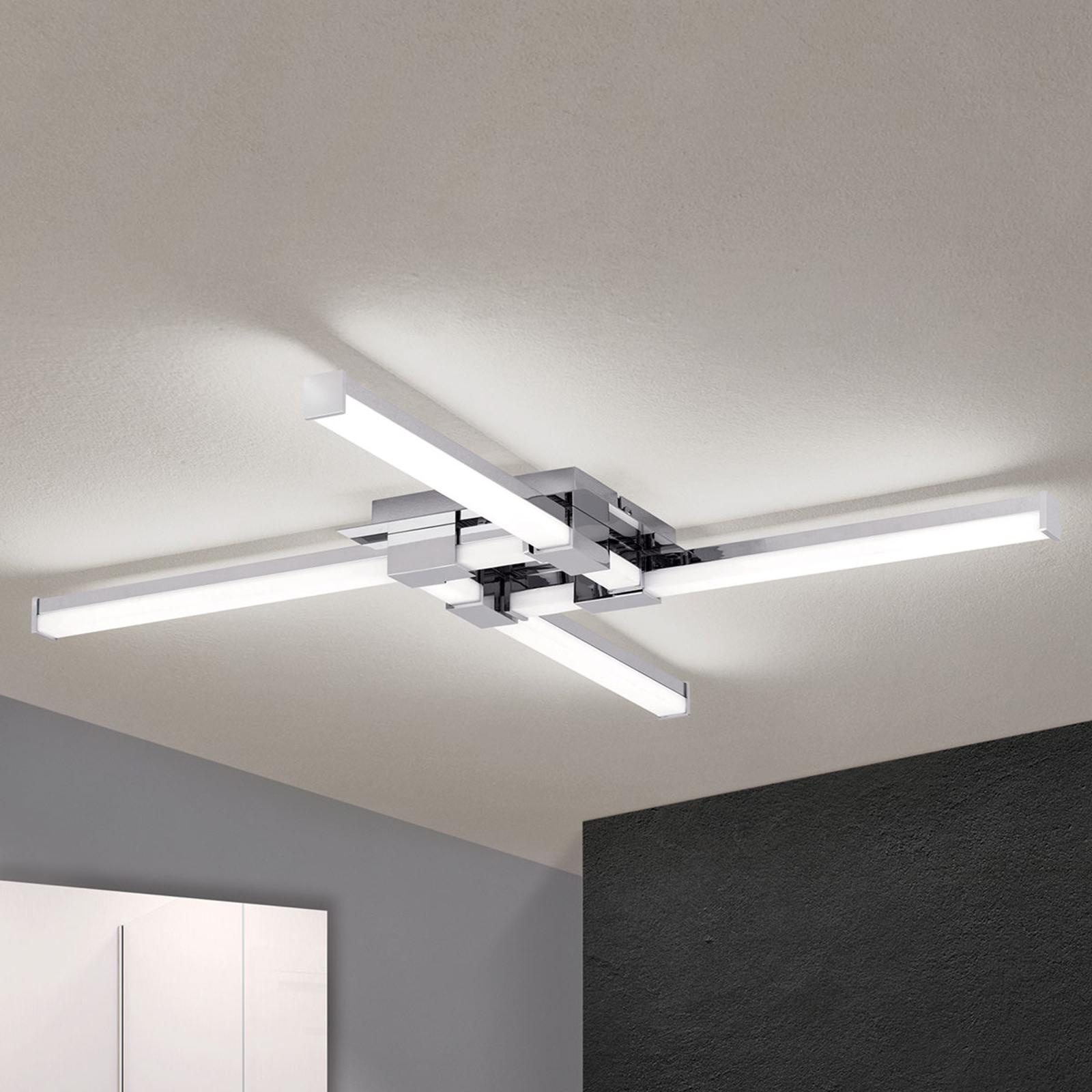Plafoniera LED da bagno Argo, 4 luci