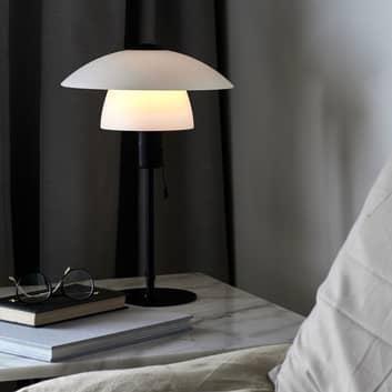 Lámpara de mesa Verona, blanco y negro