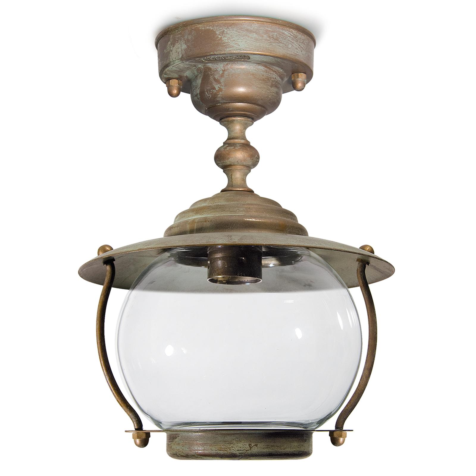 Plafondlamp Olivia - antiek-messing