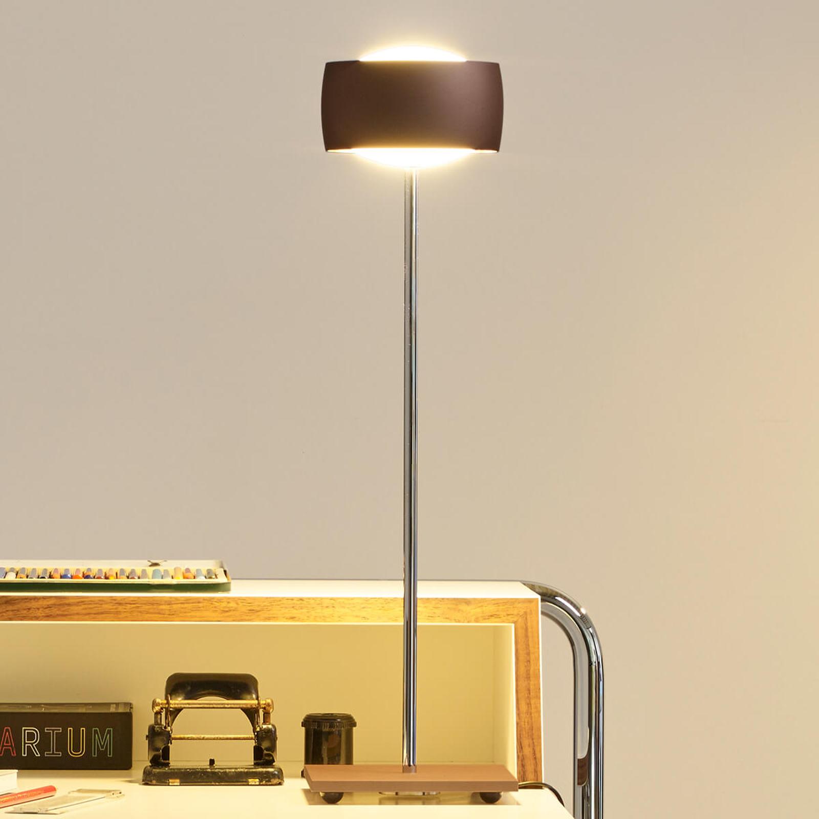 Lampe à poser LED à détection Grace, brune