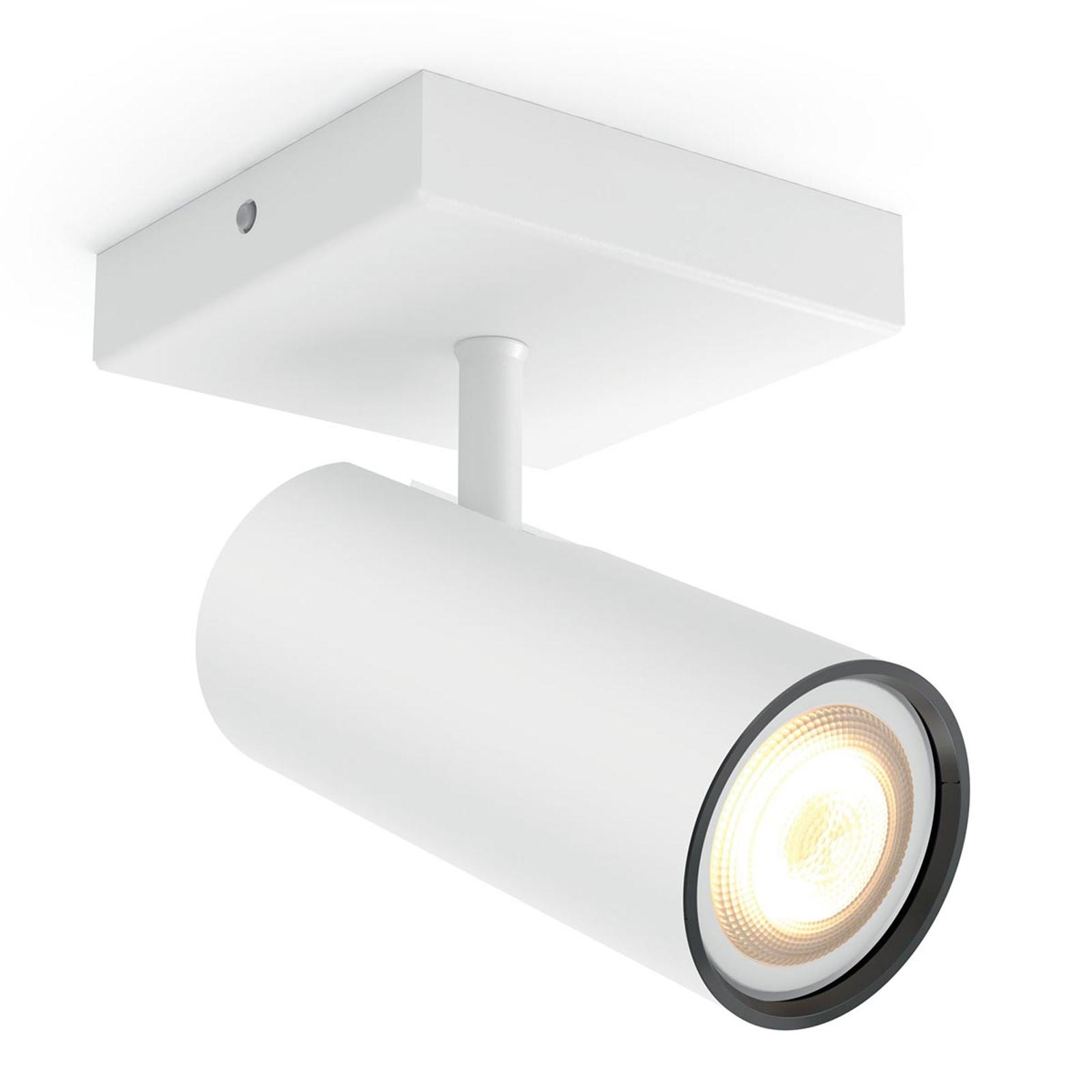 Philips Hue Buratto LED spot vit 1 lampa dimmer   Lamp24.se