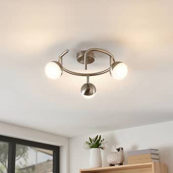 Lindby Lientje lámpara LED techo, redondo, 3 luces