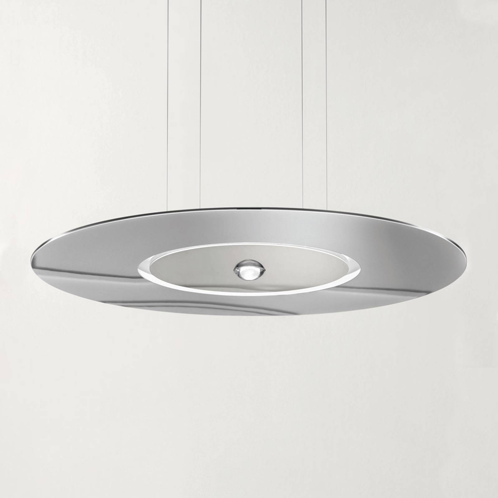 Cini&Nils Passepartout55 LED-Hängeleuchte chrom