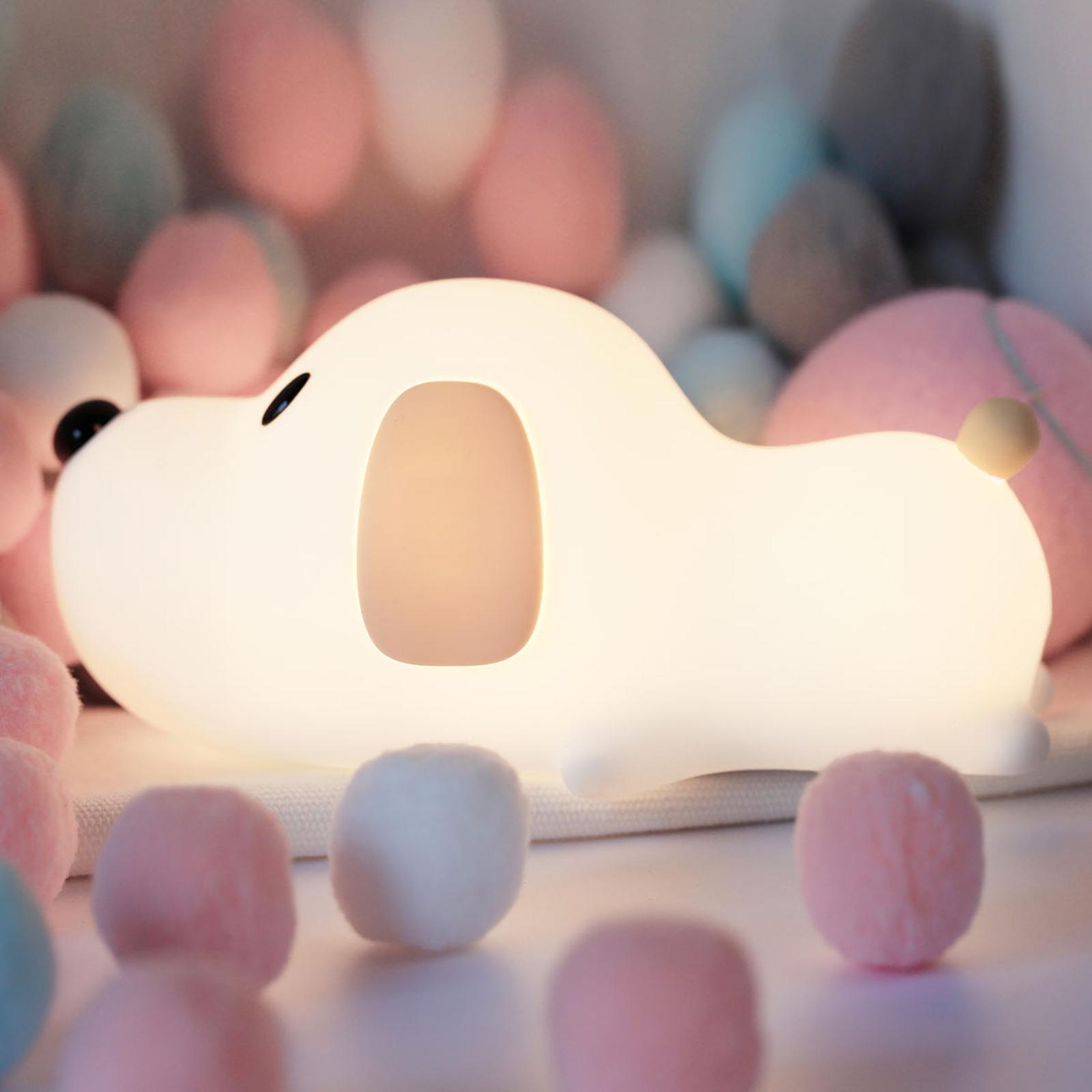 LED-Nachtlicht Doggy Dog mit Akku
