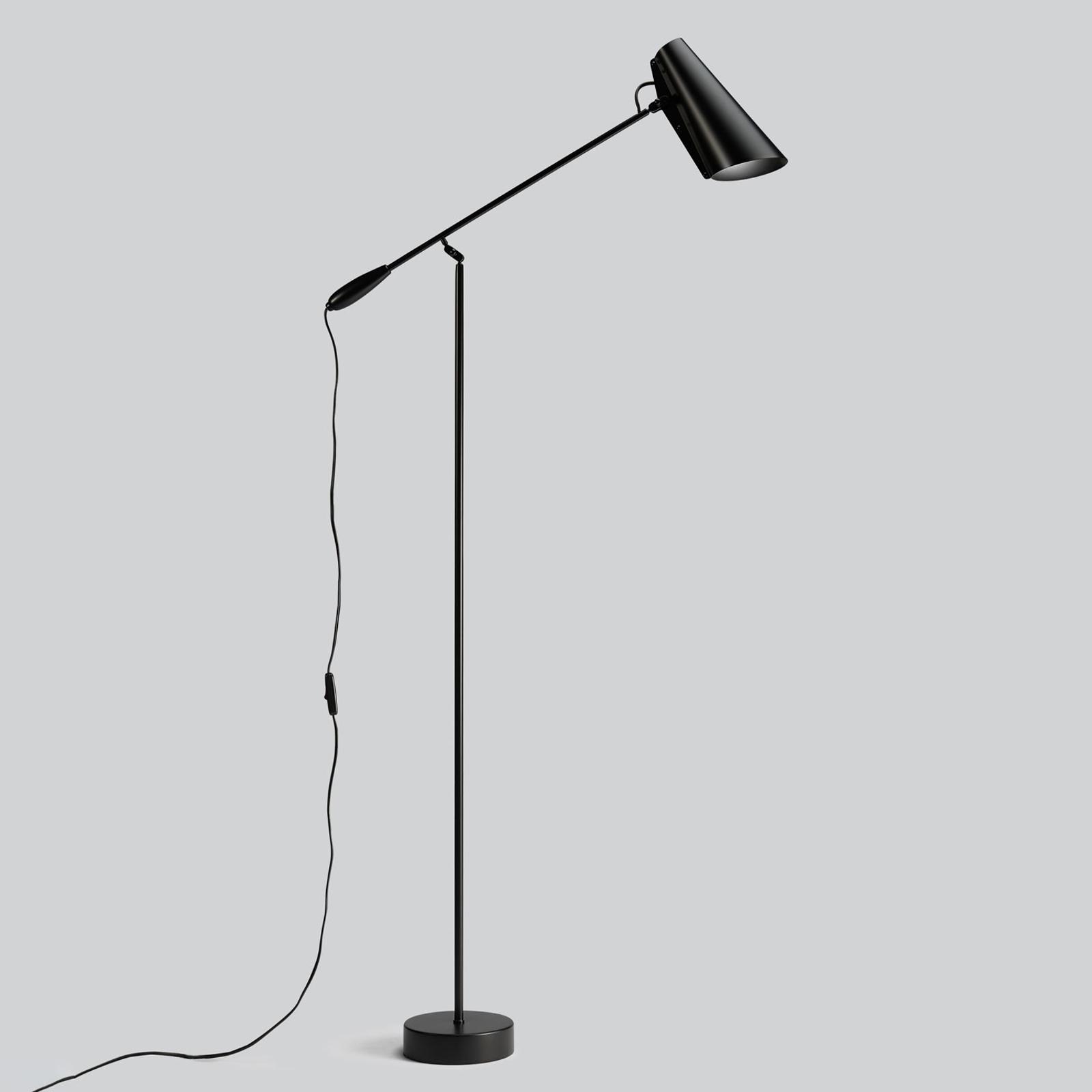 Northern Birdy - vloerlamp in zwart