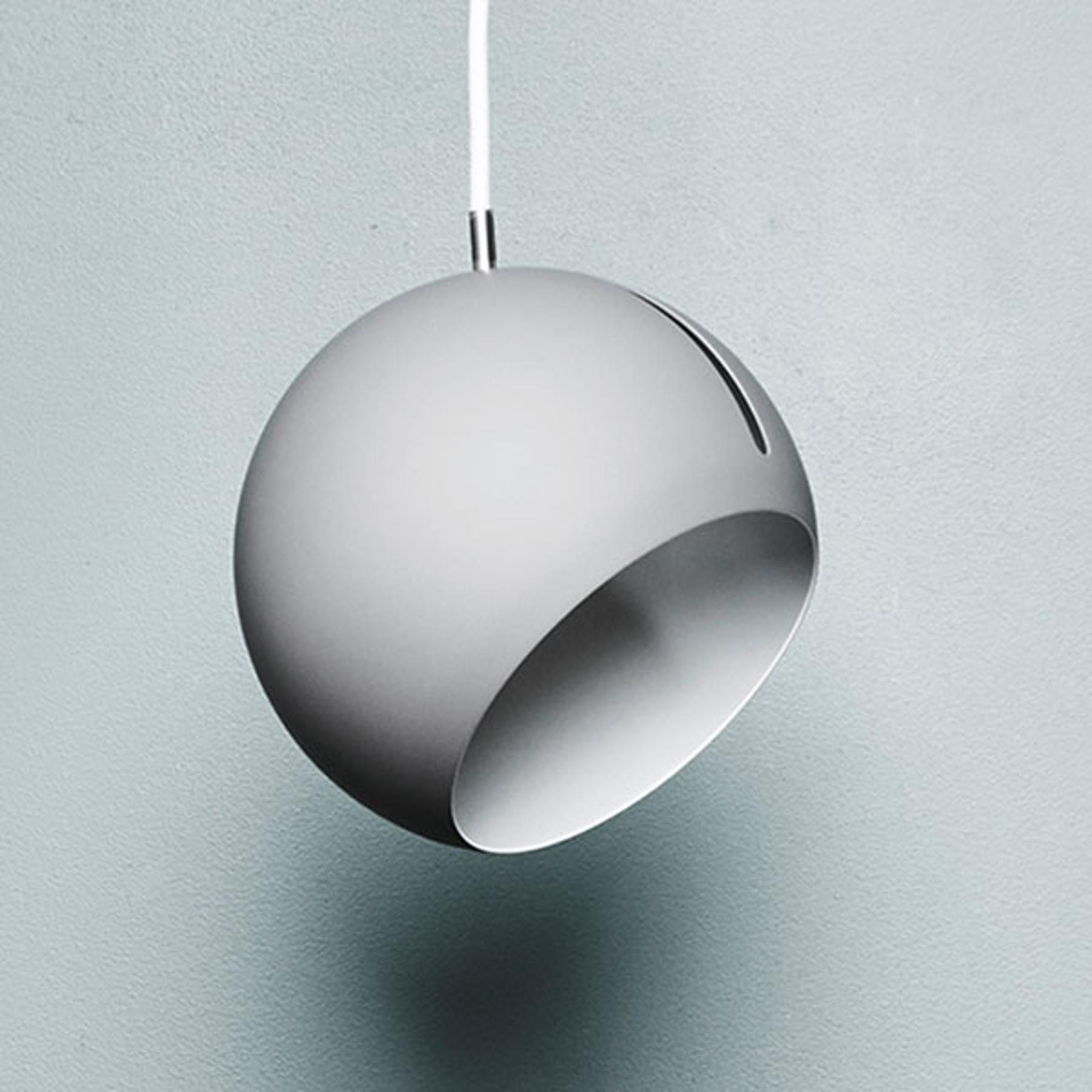 Nyta Tilt Globe lampa wisząca kabel 3m biały biała