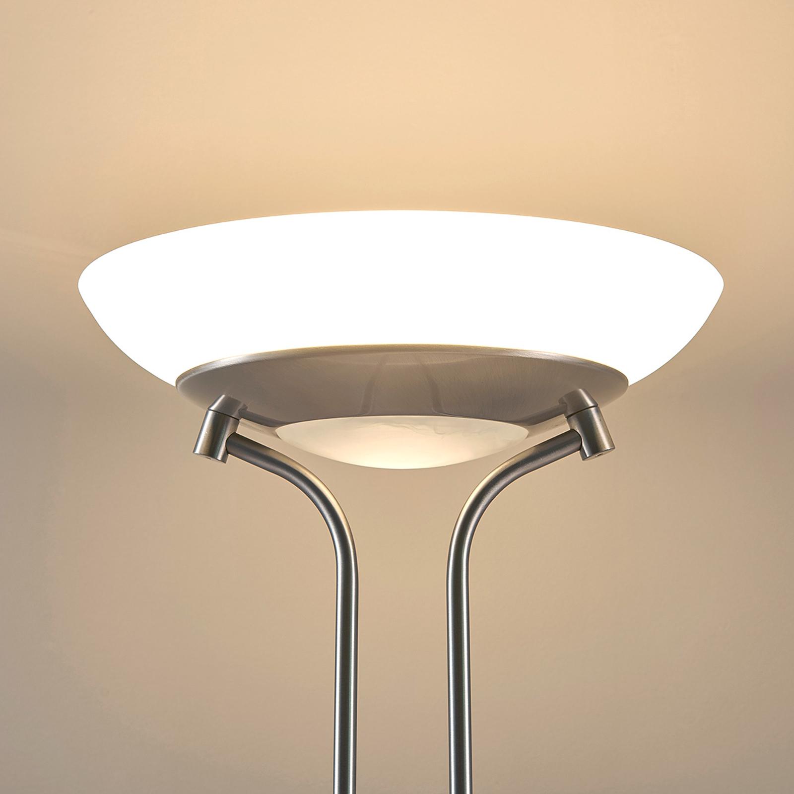 Yveta - lampada LED da terra con luce di lettura
