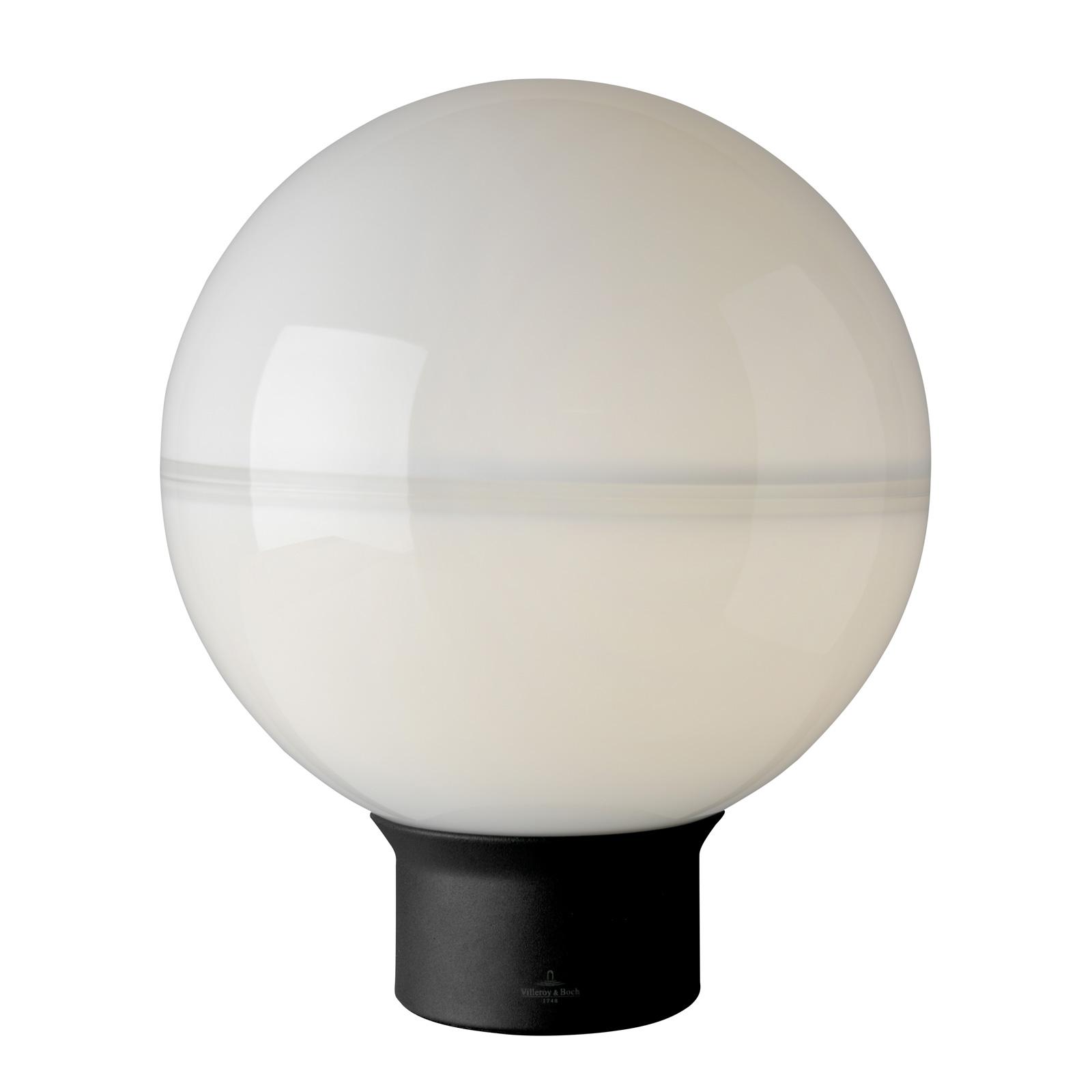 Villeroy & Boch Tokio tafellamp zwart-wit 30cm