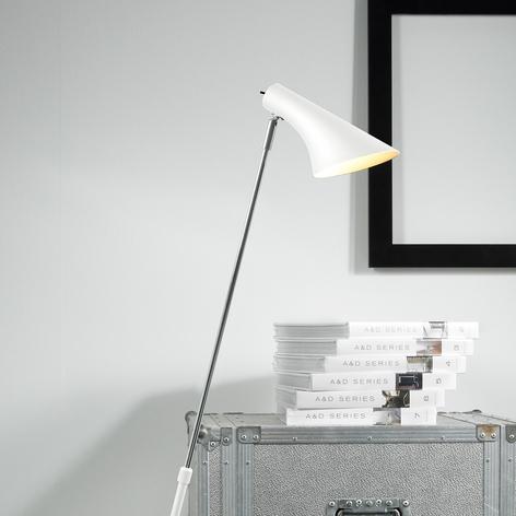 Elegante flexibele vloerlamp Liam, wit