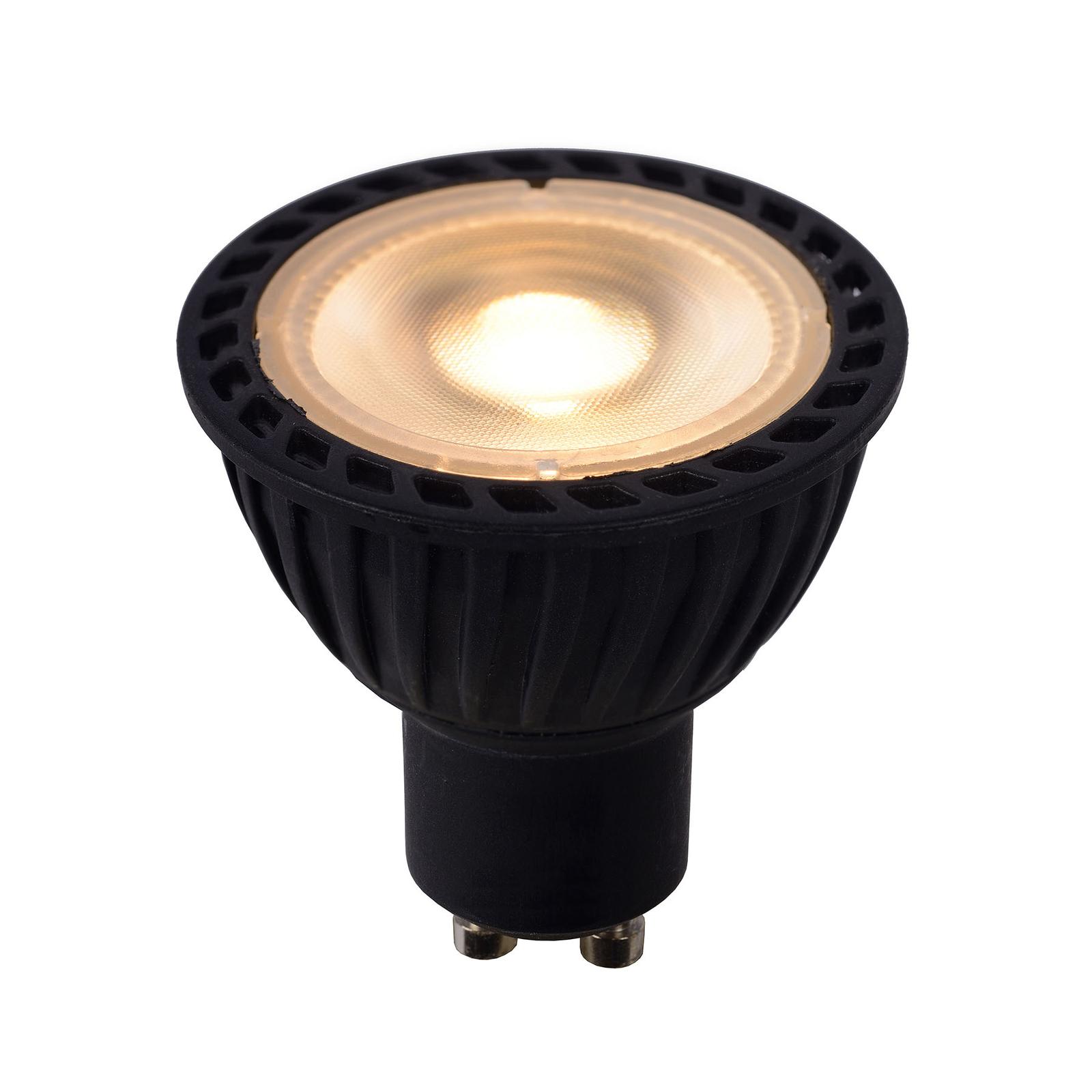 LED-Reflektor GU10 5W dim to warm, schwarz