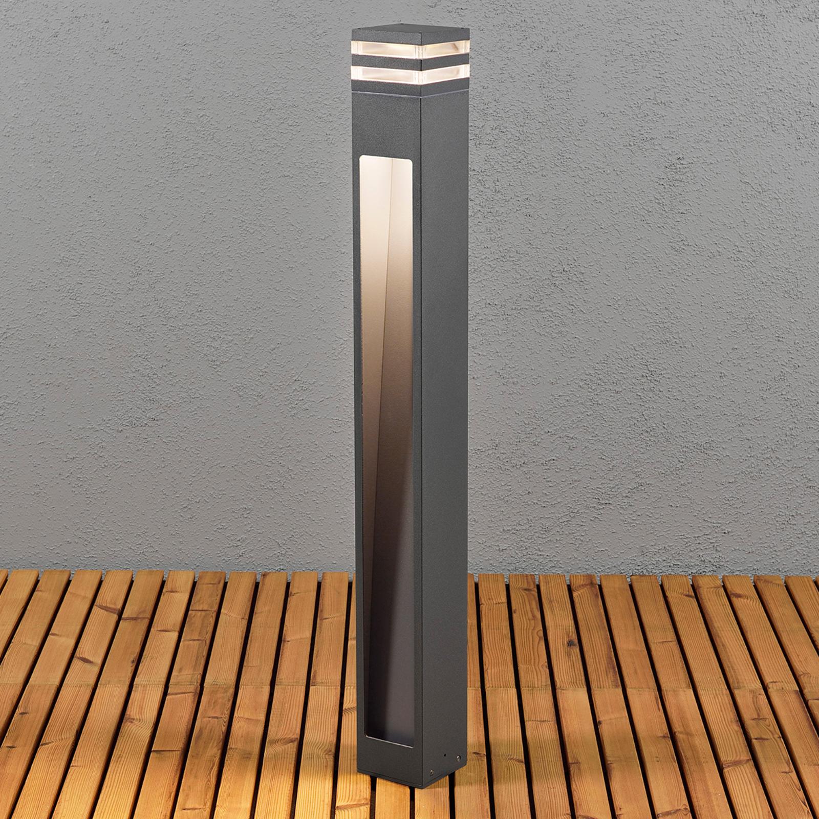 Schlanke LED-Wegeleuchte Massa
