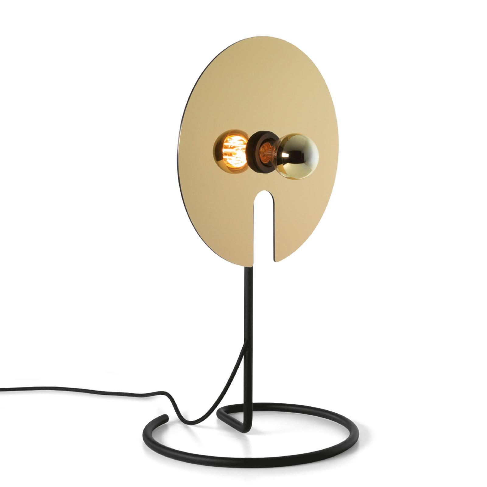 WEVER & DUCRÉ Mirro Tischlampe 1.0 schwarz/gold