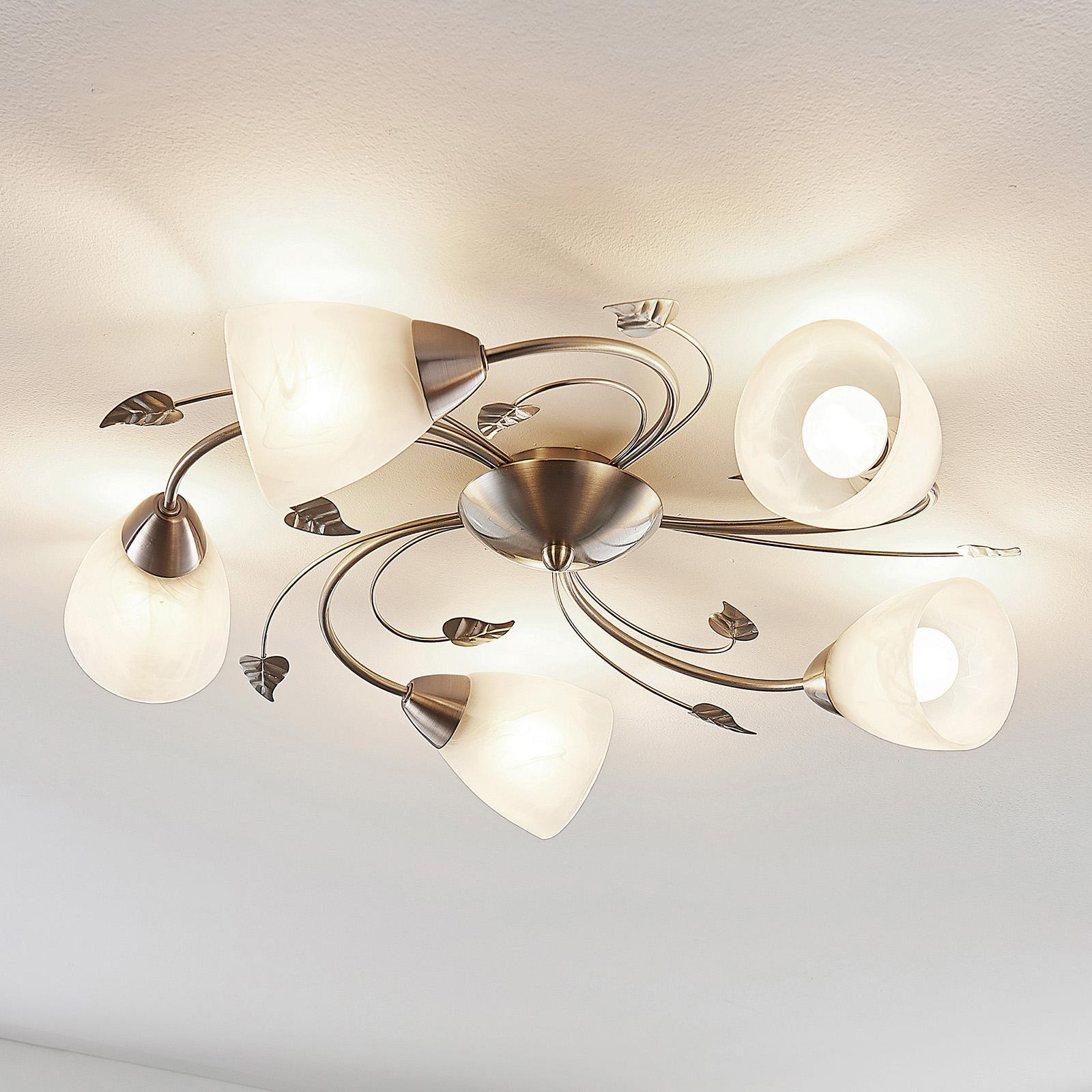 Lindby Yannie lampa sufitowa LED, 5-punktowa