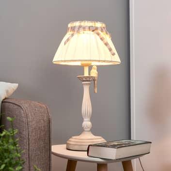 Bird - bordlampe med håndlavet metalfugl