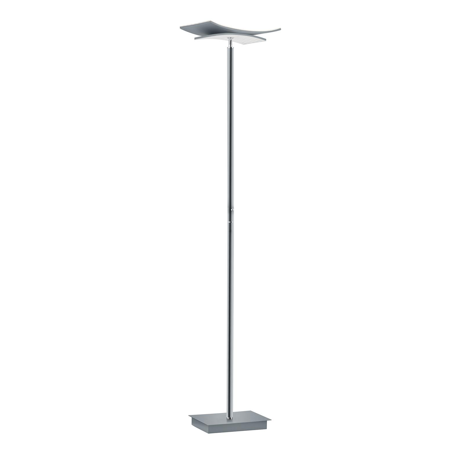B-Leuchten Liberty lampadaire LED, nickel mat