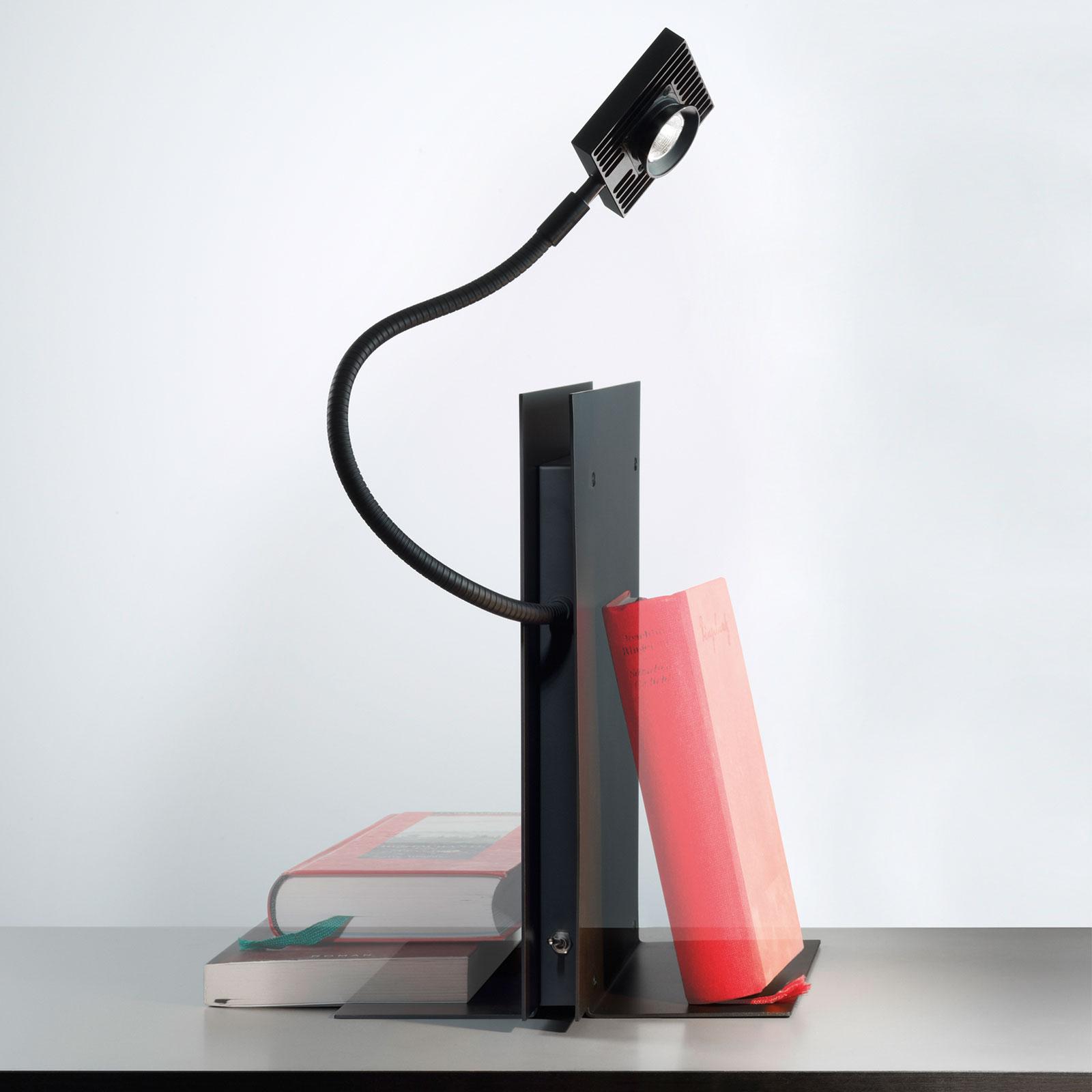 Ingo Maurer LED Oskar bordlampe, svart
