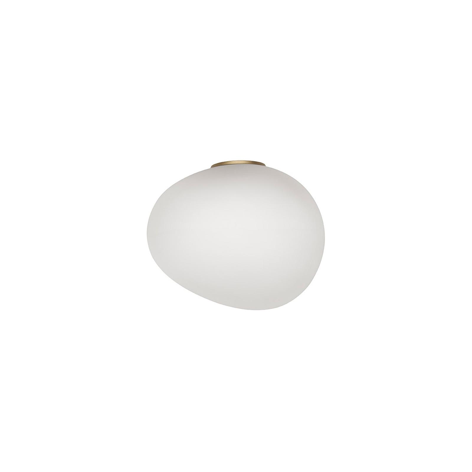 Foscarini Gregg media semi 1 Wandlampe, gold
