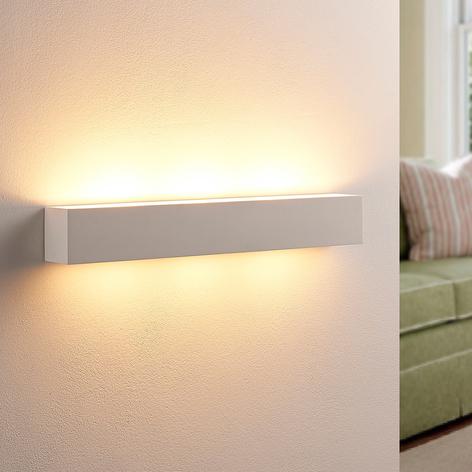 Tjada - applique LED di gesso di forma allungata