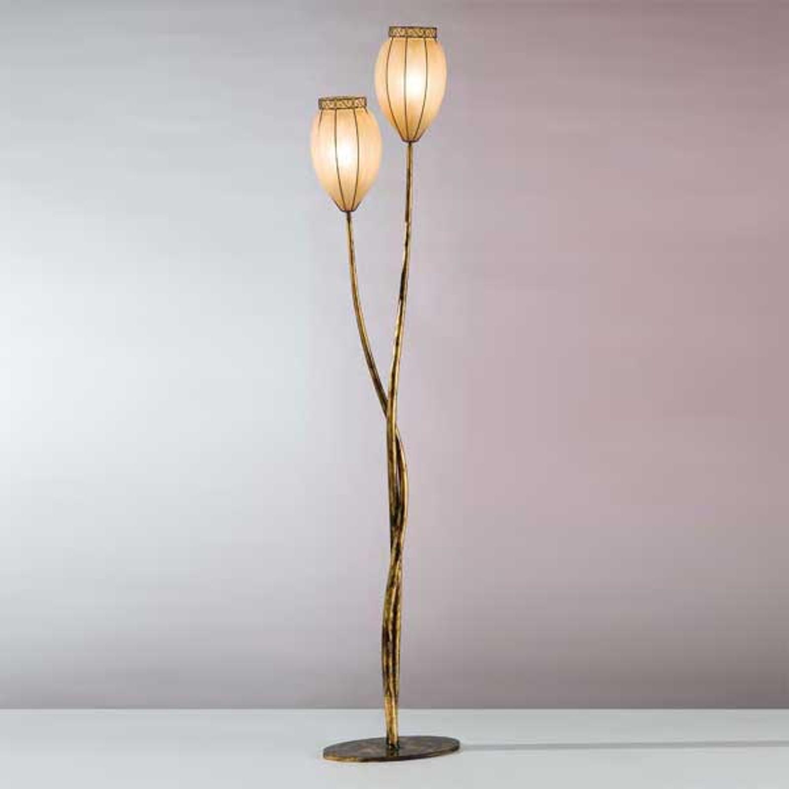 Lampa stojąca TULIPANO ze szkła Scavo