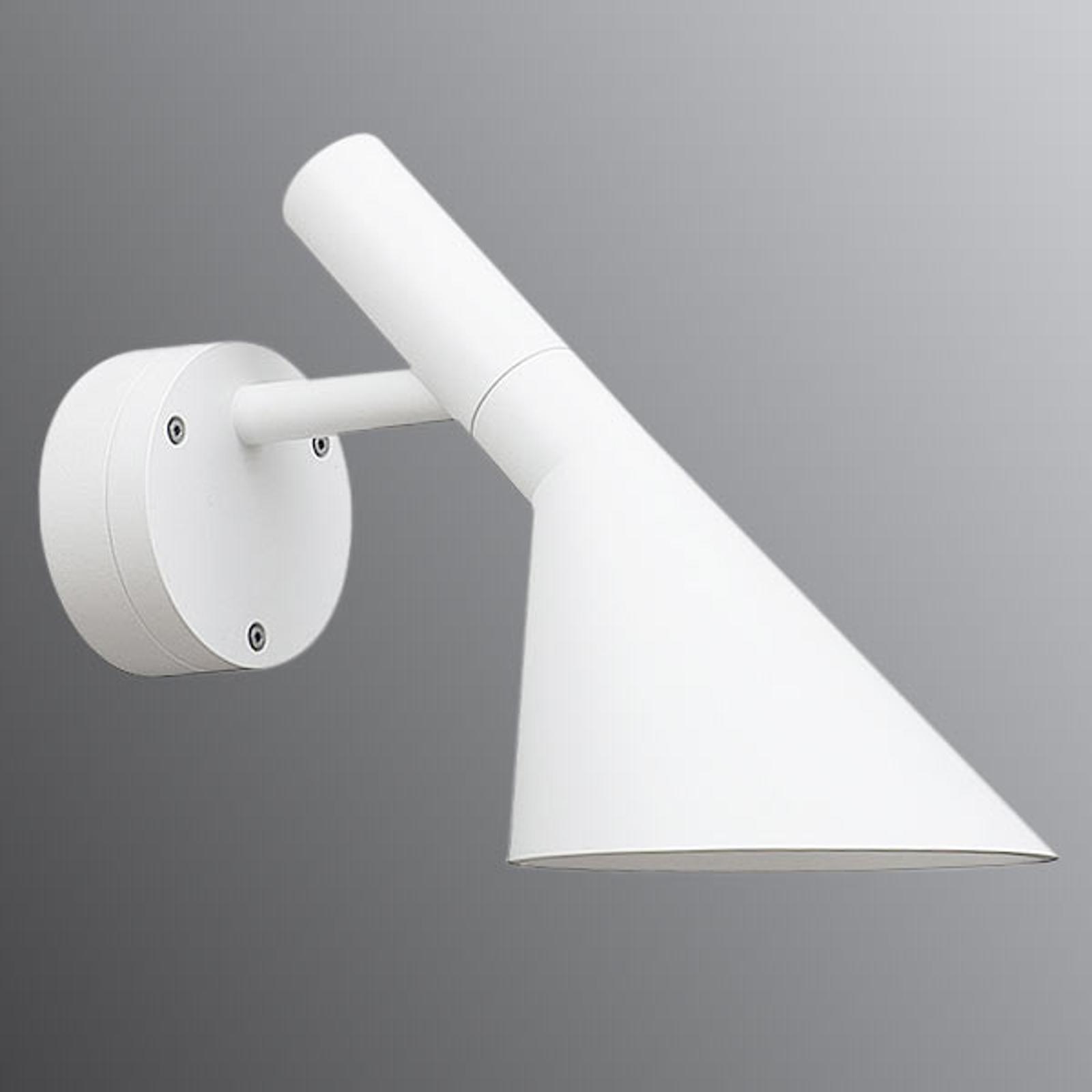 LED buiten wandlamp AJ 50, wit gestructureerd