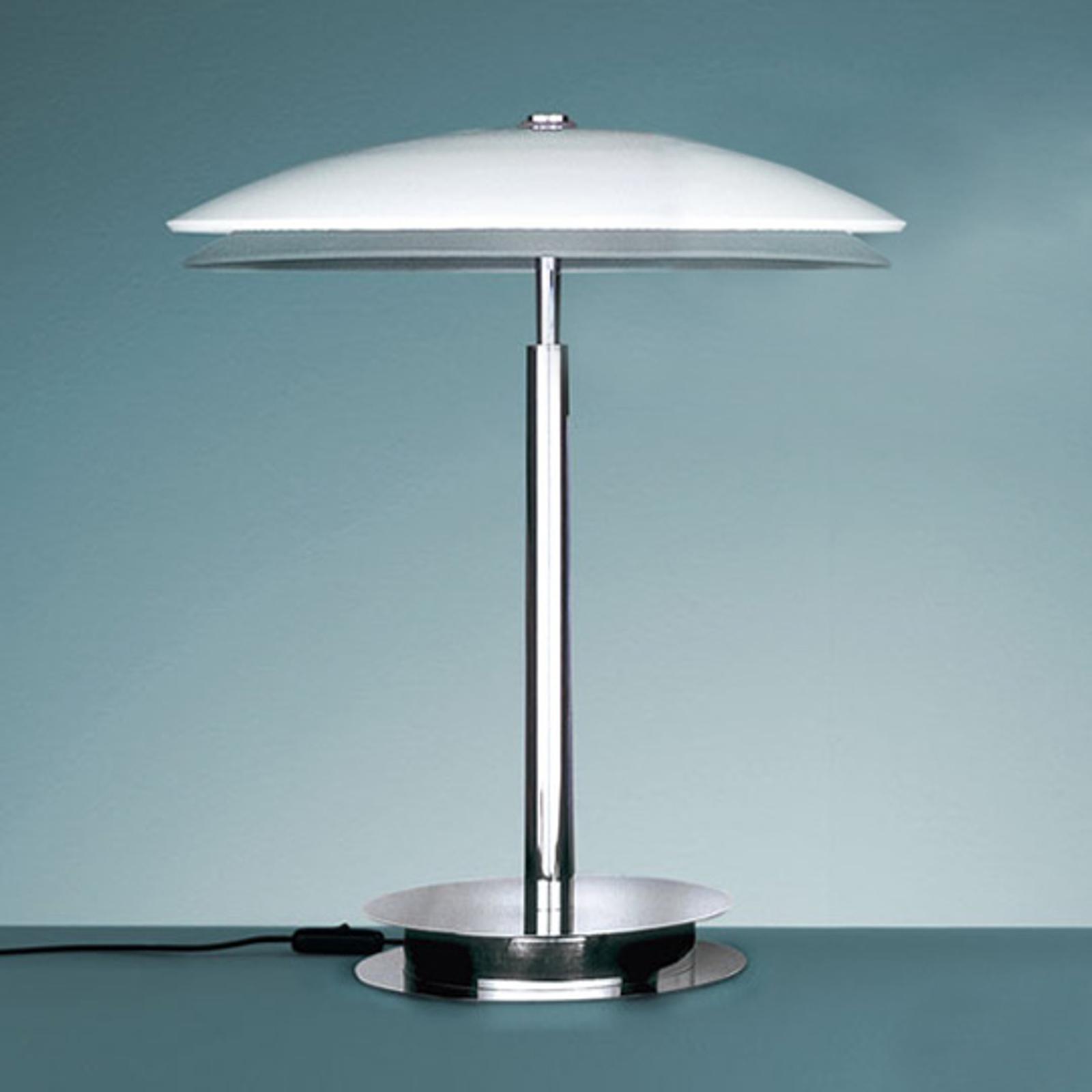 Designerska lampa stołowa 2280, TRIS biały