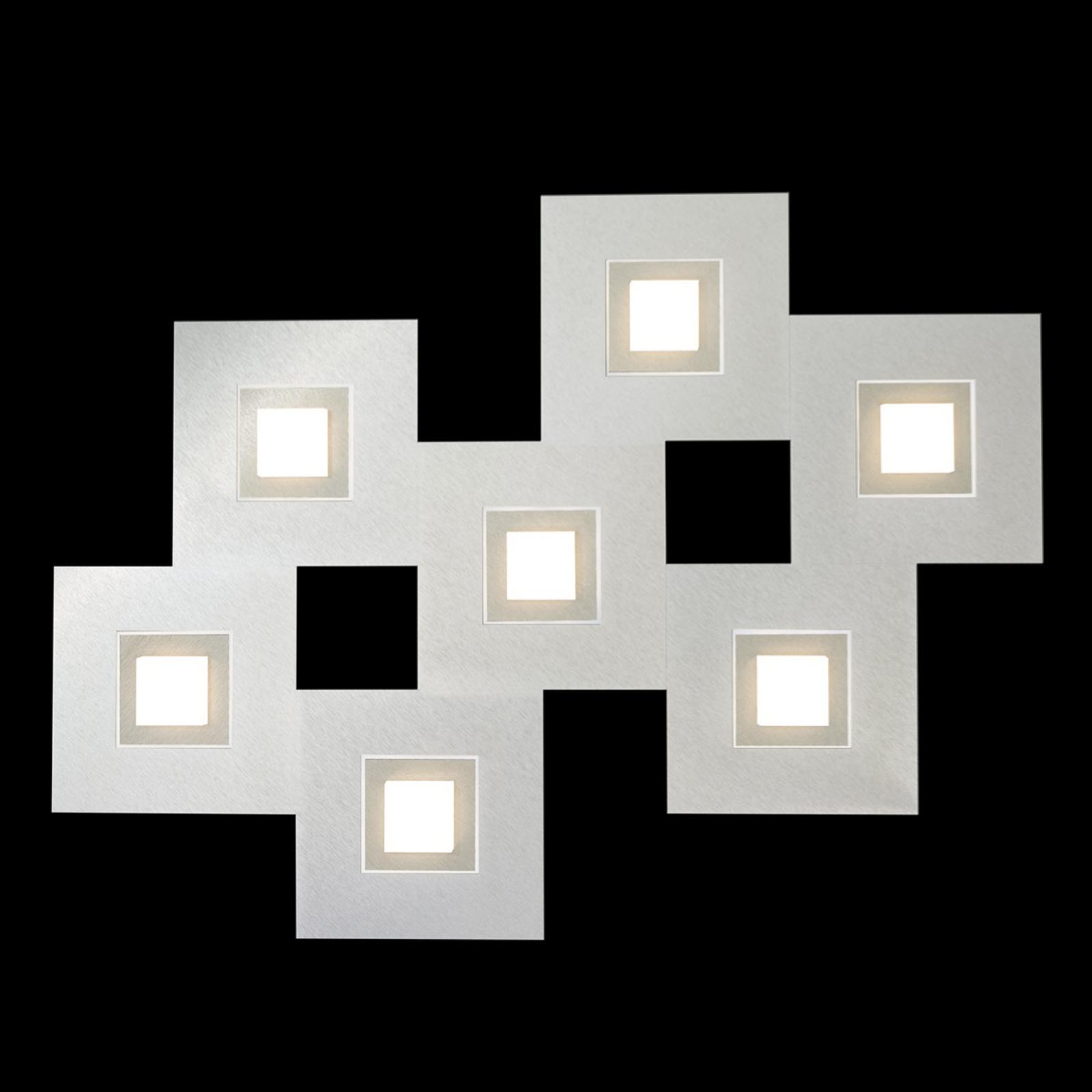 GROSSMANN Karree lampa sufitowa LED, 7-pkt.