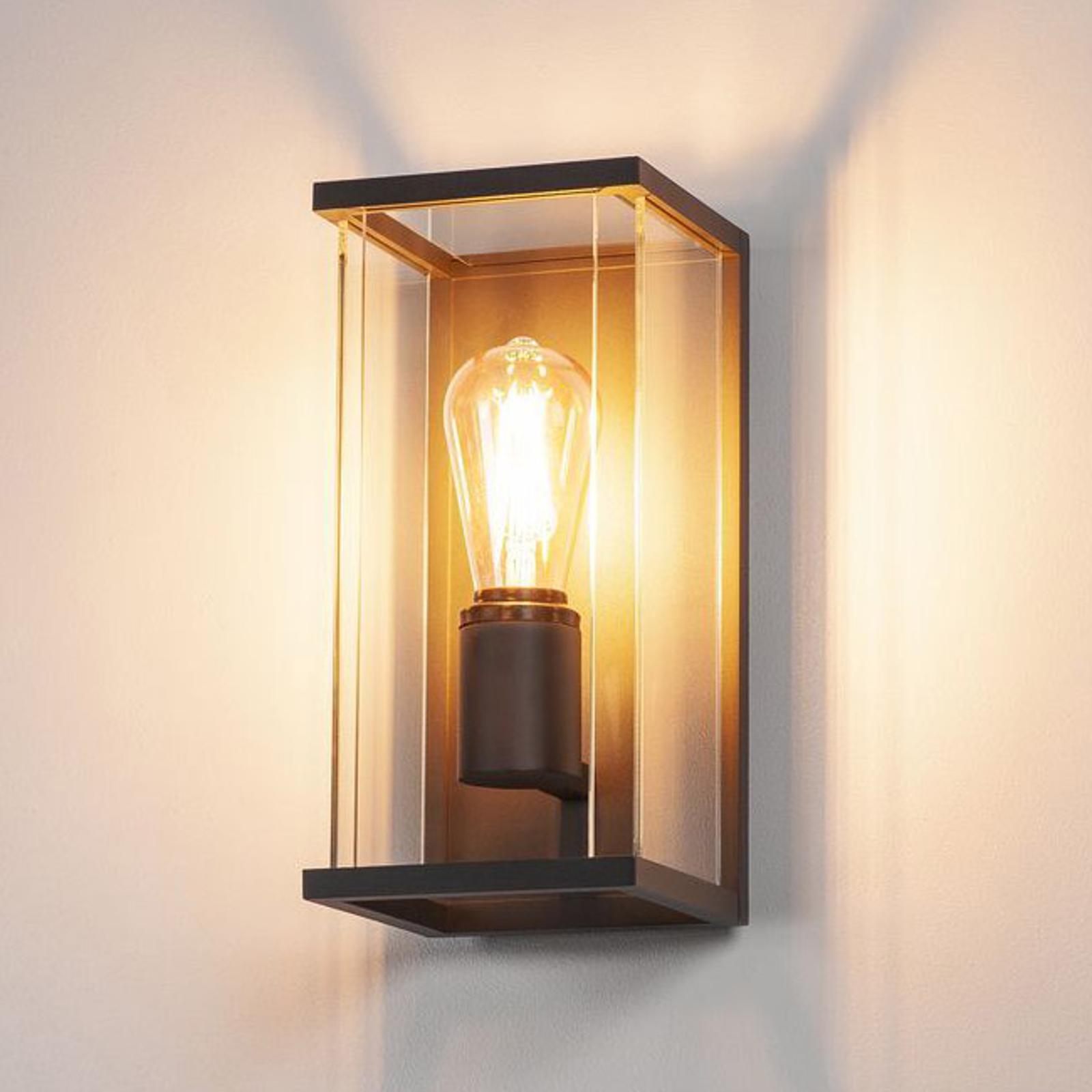 SLV Quadrulo Außenwandlampe in Laternenform