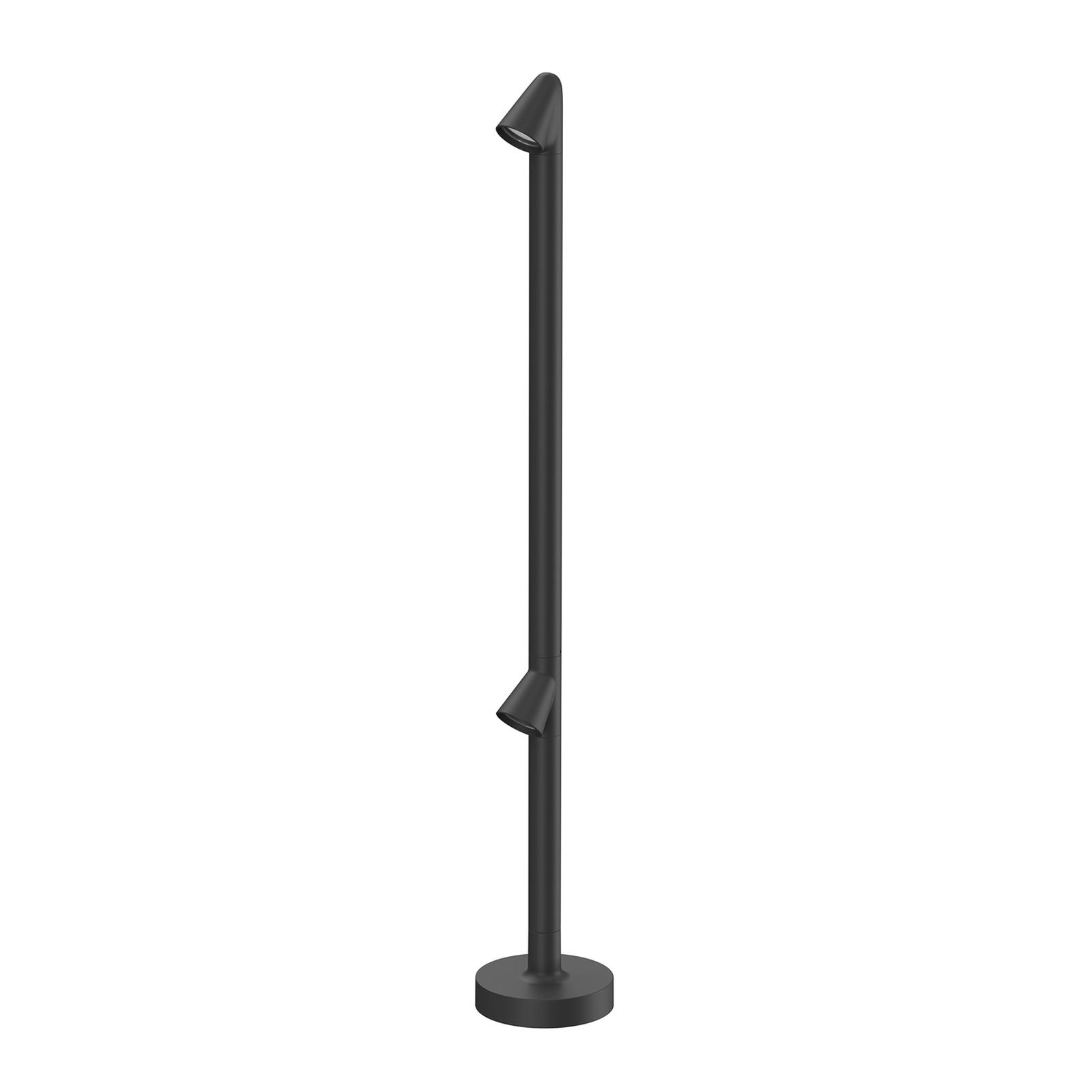 FLOS Walkstick 2 Double gånglampa 2700K svart
