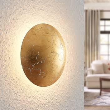 Lindby Illuma LED wandlamp, goud