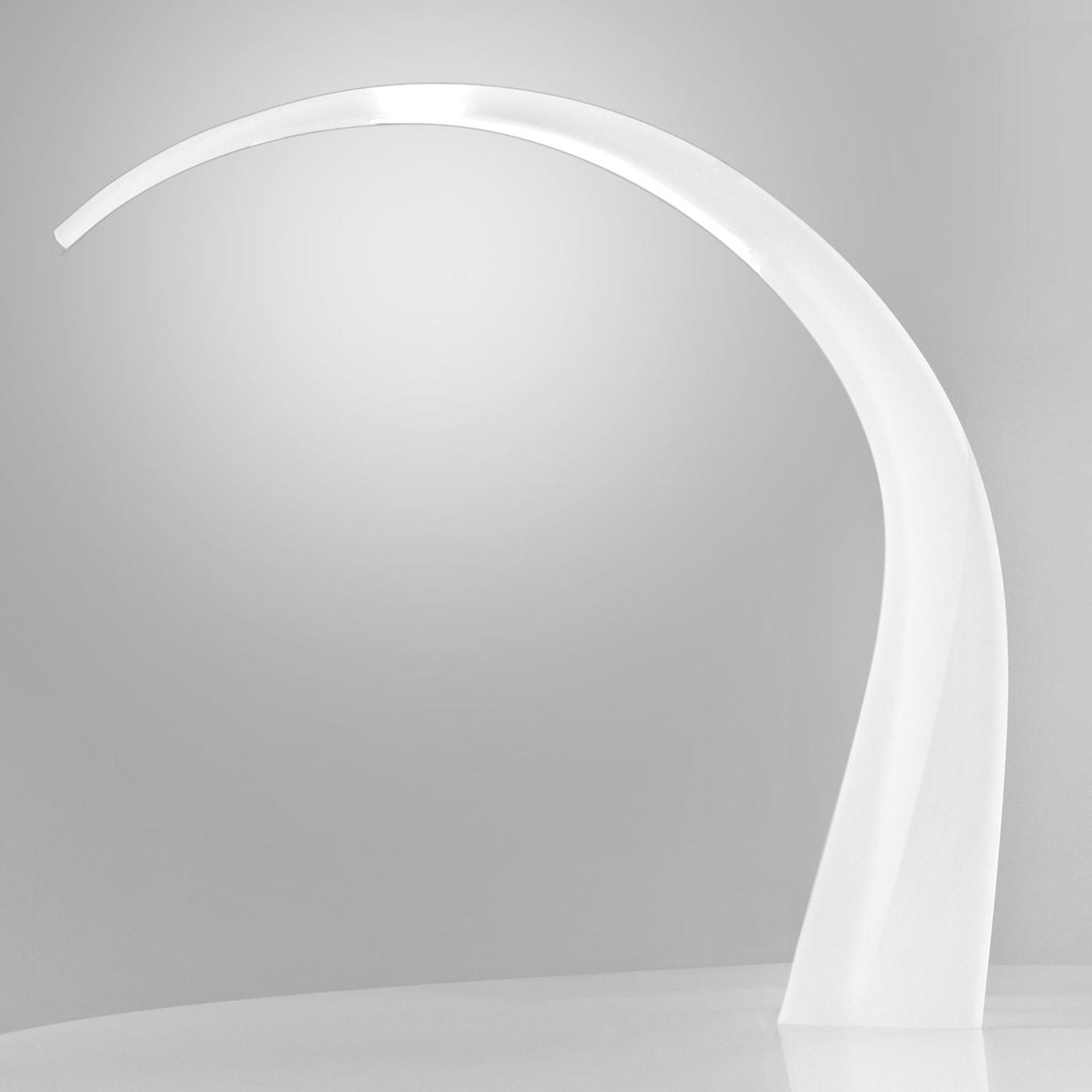 Lampe de bureau LED blanche Taj