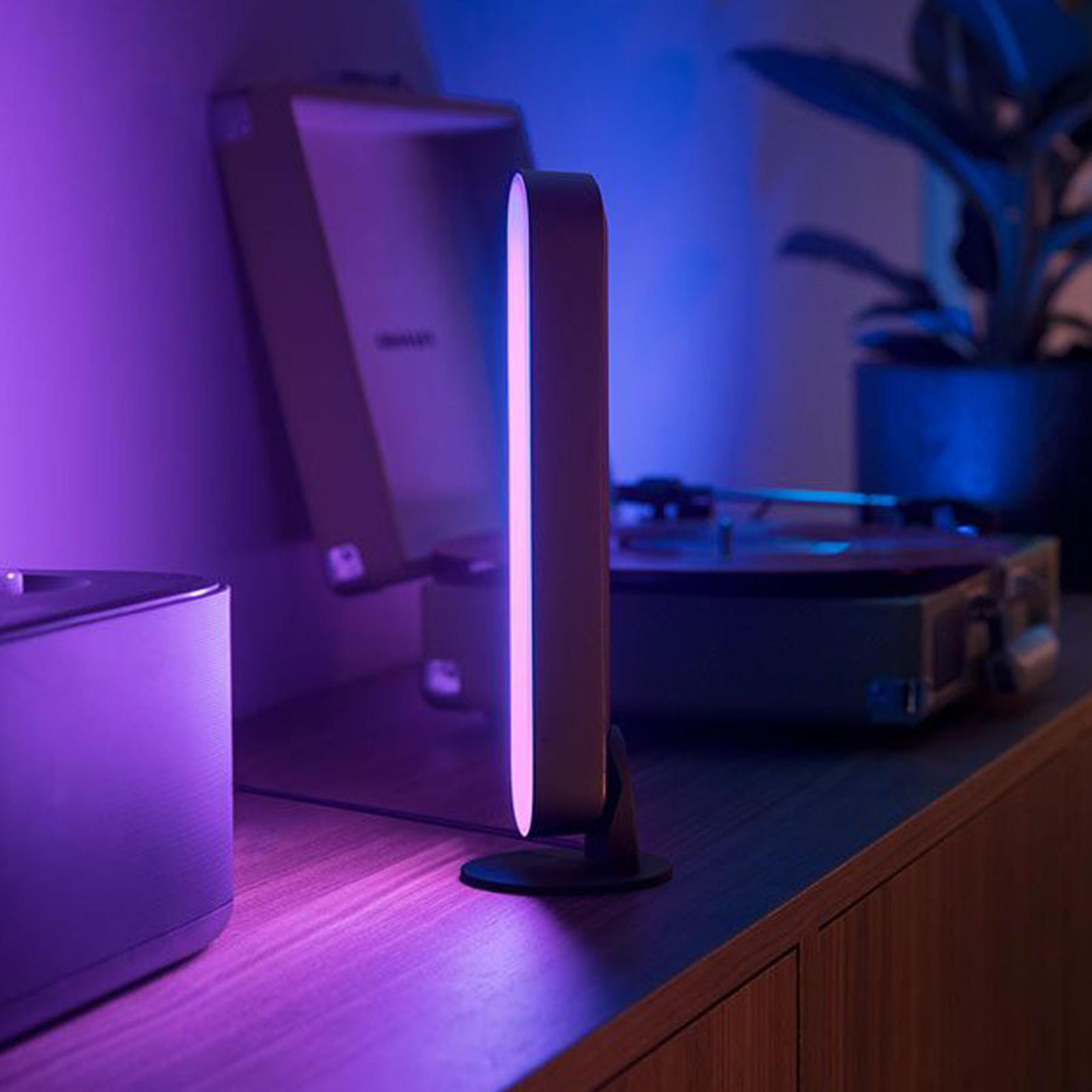Philips Hue Play Lightbar, base, 1 lampe noire