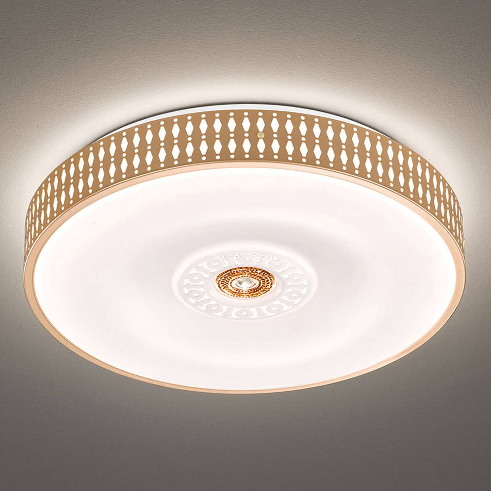 LED-Deckenleuchte Coso, dimmbar, Ø 50 cm