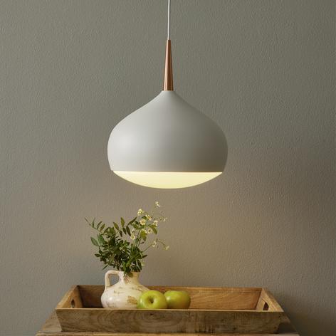 EGLO connect Comba-C lámpara colgante blanco-cobre