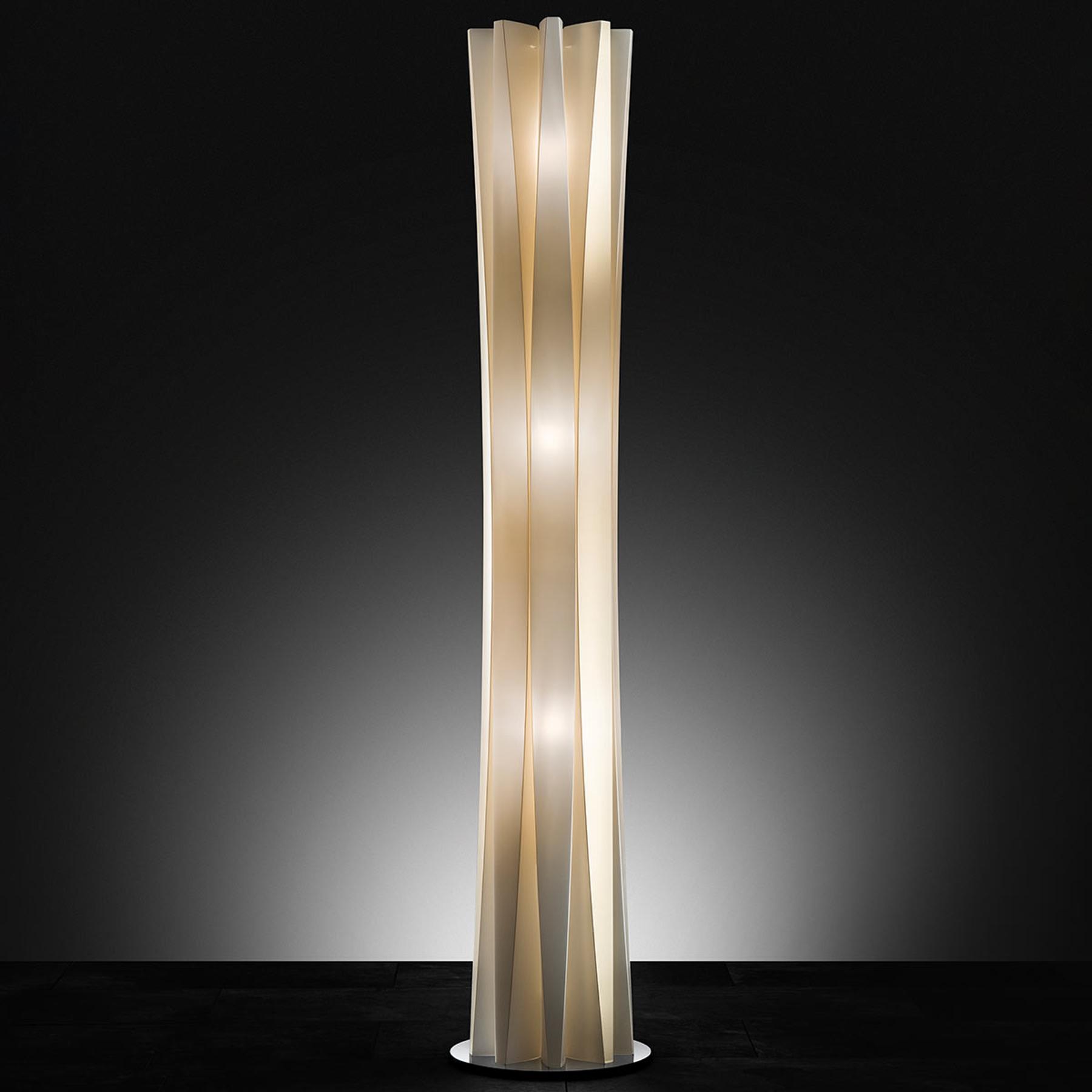 Élégant lampadaire BACH, hauteur 161 cm, or