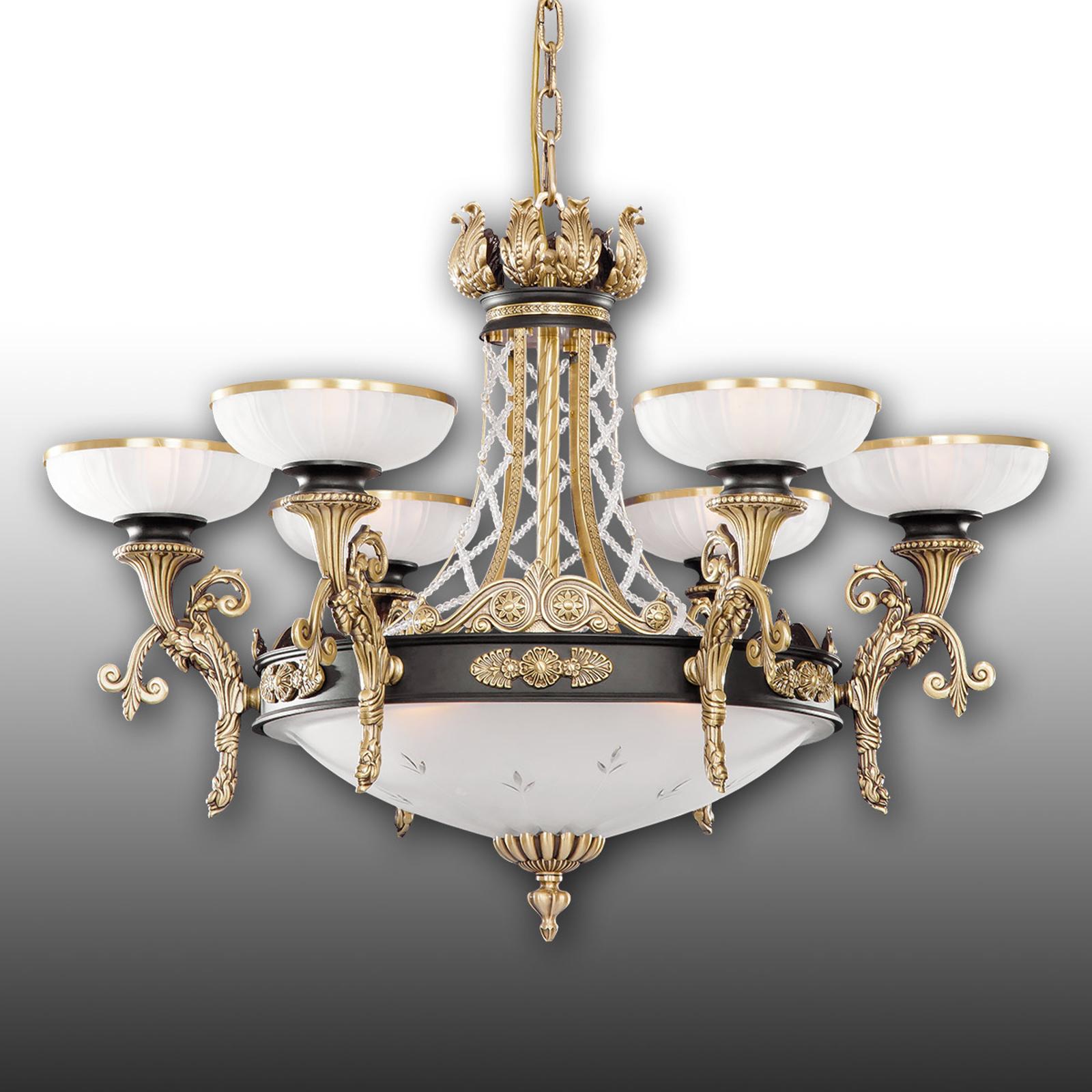 Prunkvoller Kronleuchter Tudor