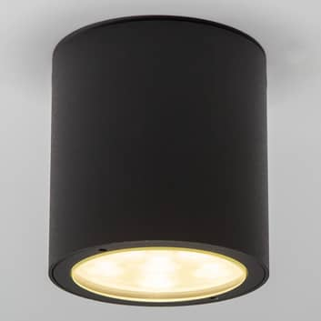 Ronde LED-plafondspot Meret voor buiten, IP54