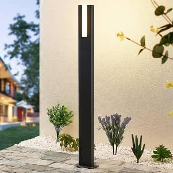 Lucande Virgalia słupek oświetleniowy LED, 100 cm