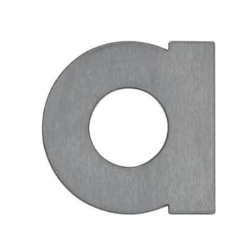 Huisnummer - letters