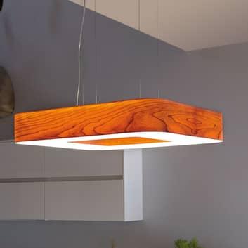 LZF Cuad LED sospensione 0-10V dim, laminato legno