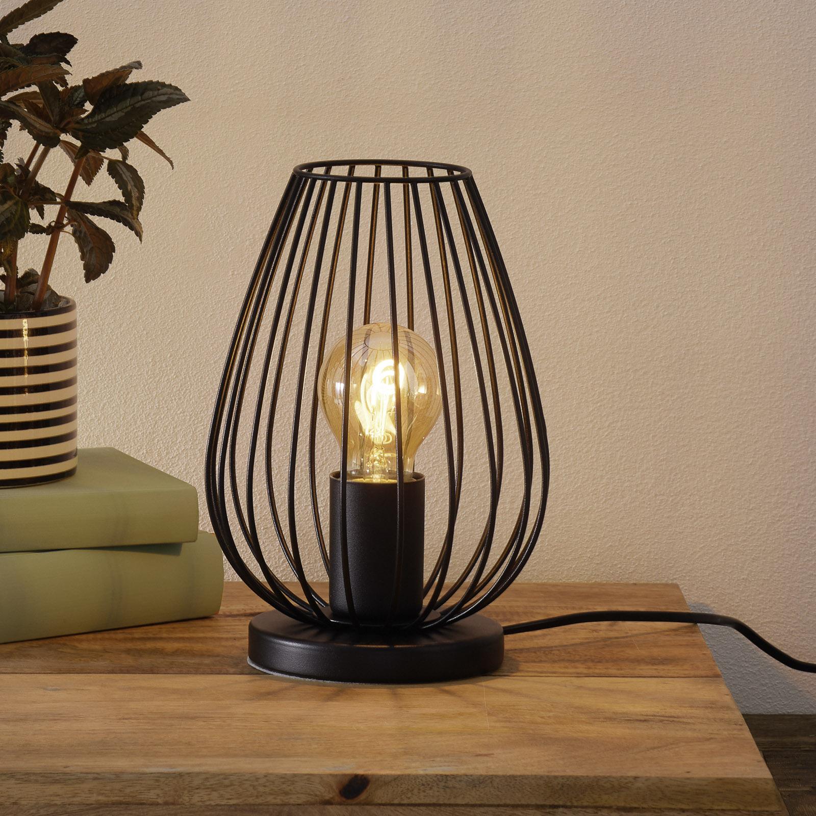 Newtown - stolní lampa ve vzhledu Vintage