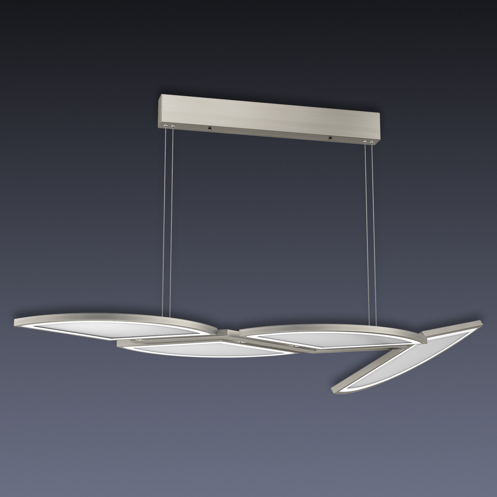 LED-pendellampe Movil med fire lys