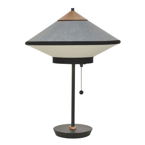 Forestier Cymbal S lámpara de mesa textil
