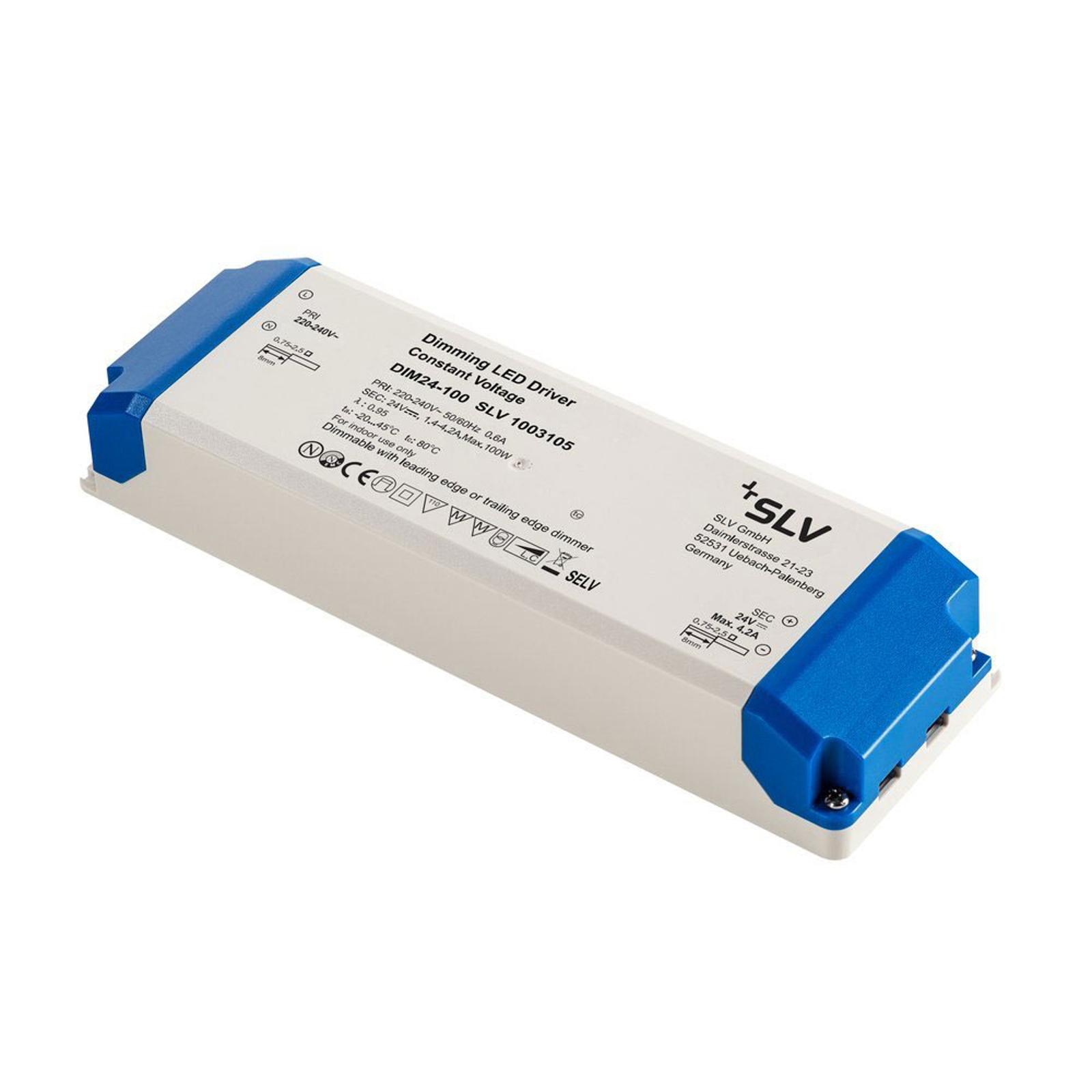 SLV LED-driver 24 V, 100 W, TRIAC-dimbar