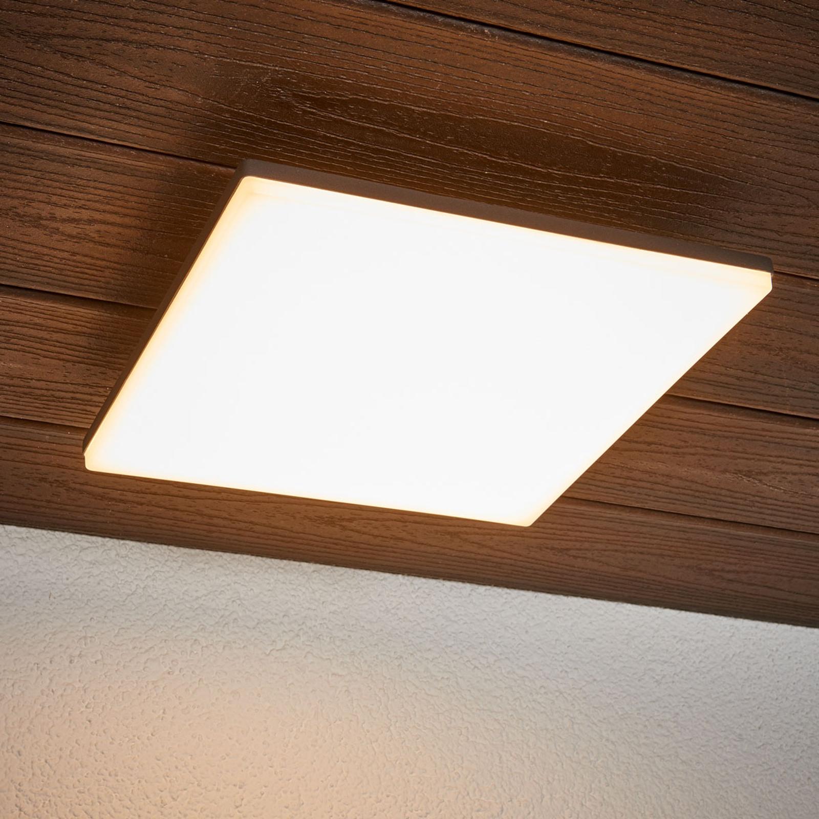 Sensorstyret loftslampe Henni, LED'er, udendørs