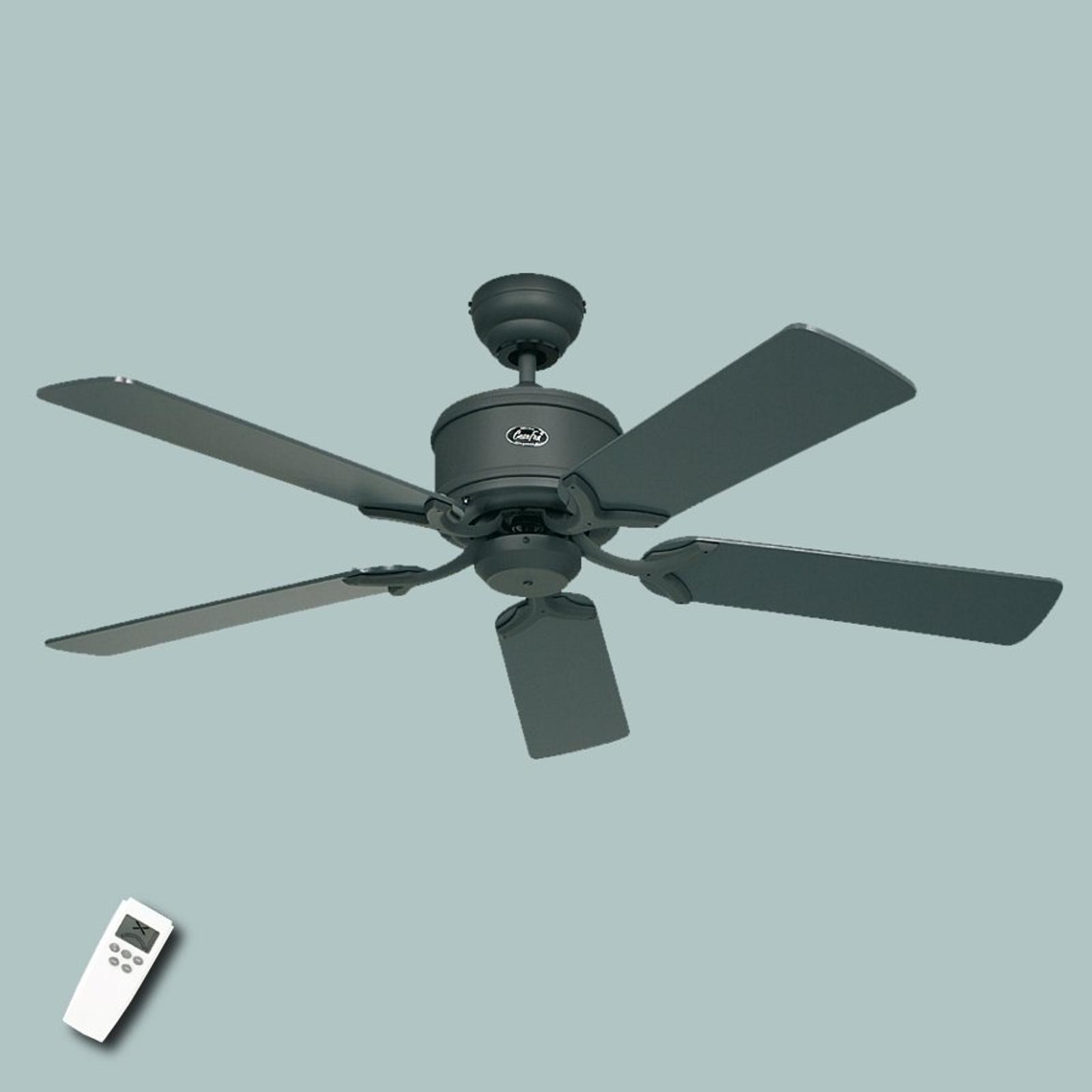 Úsporný stropní ventilátor Eco Elements, šedobílá
